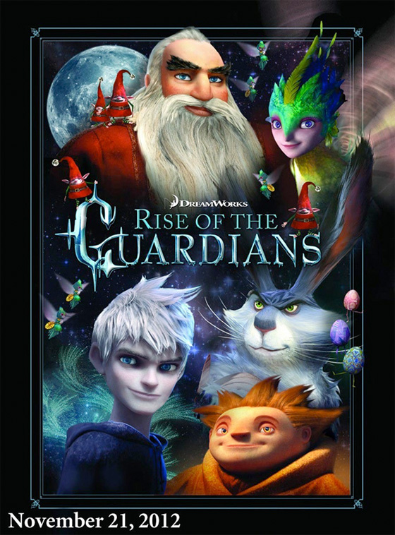Rise of the Guardians - Promo Poster
