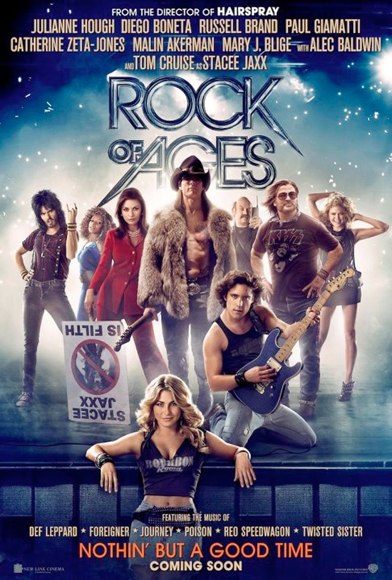Rock of Ages - International Poster