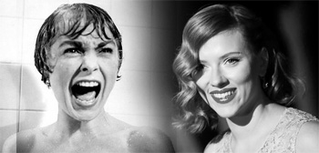 Janet Leigh / Scarlett Johansson