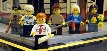 Shaun of the Dead LEGO Set