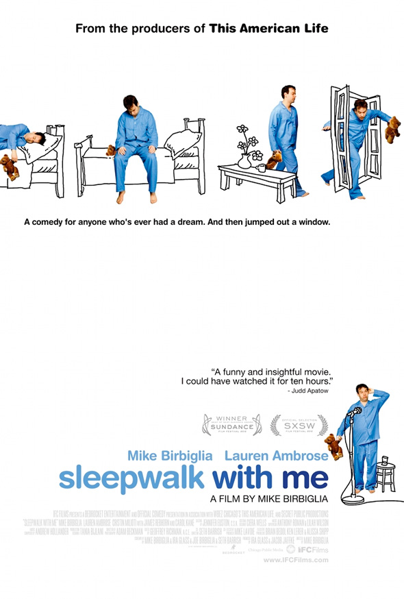 Sleepwalk with Me - First Poster