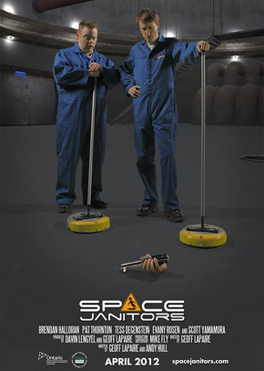 Space Janitors Poster