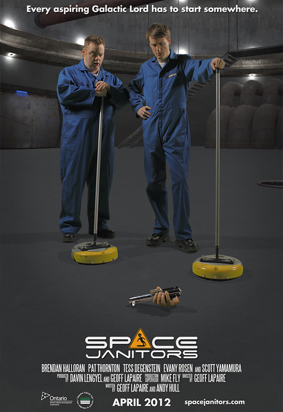 Space Janitors Teaser Poster