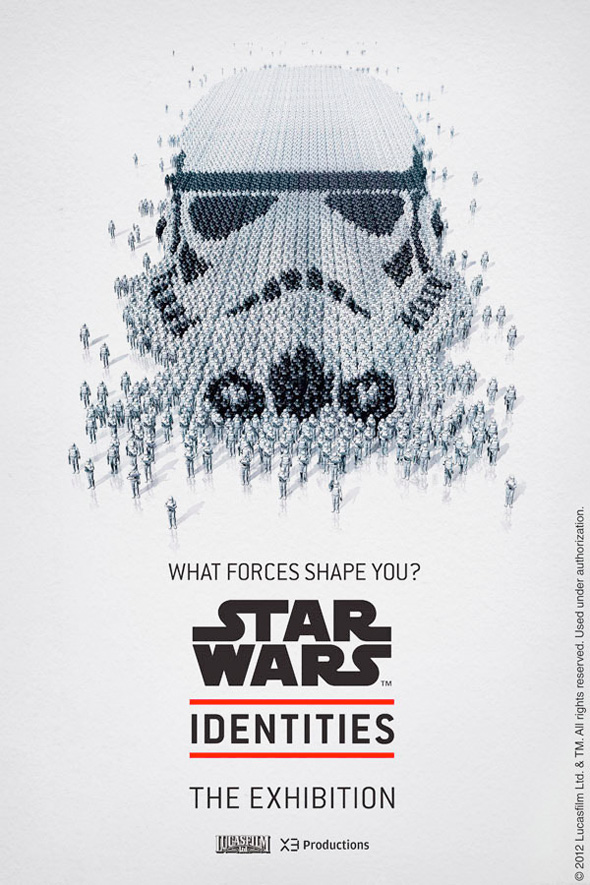 Star Wars: Identities - Stormtrooper Poster