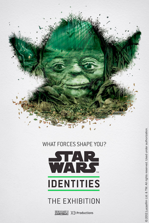 Star Wars: Identities - Yoda Poster