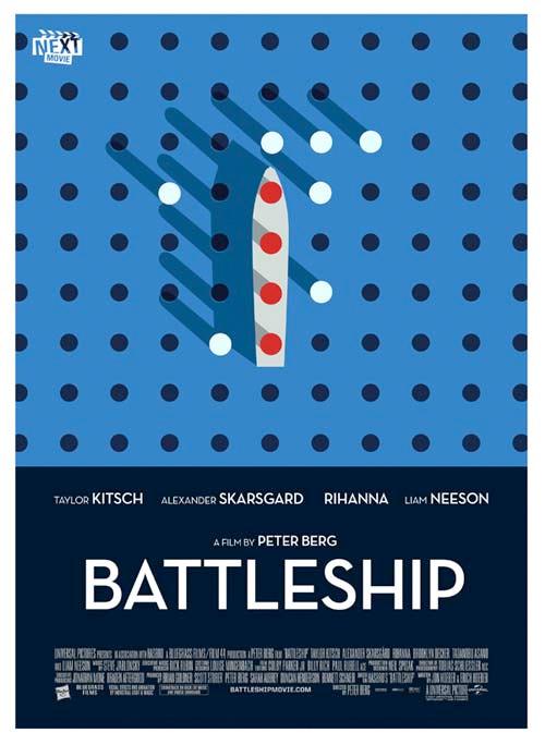 Summer Indie Poster - Battleship
