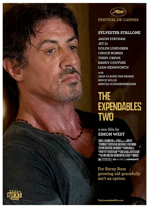 Summer Indie Poster - The Expendables 2