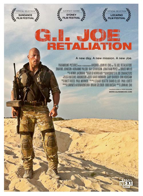Summer Indie Poster - G.I. Joe: Retaliation