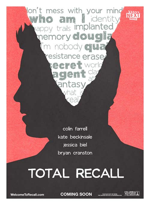Summer Indie Poster - Total Recall