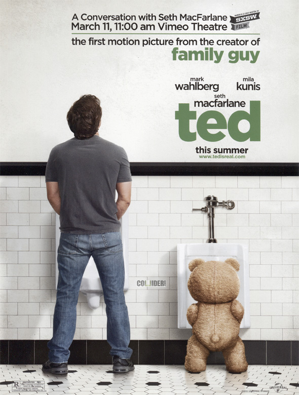 Ted - South by Southwest Teaser Poster