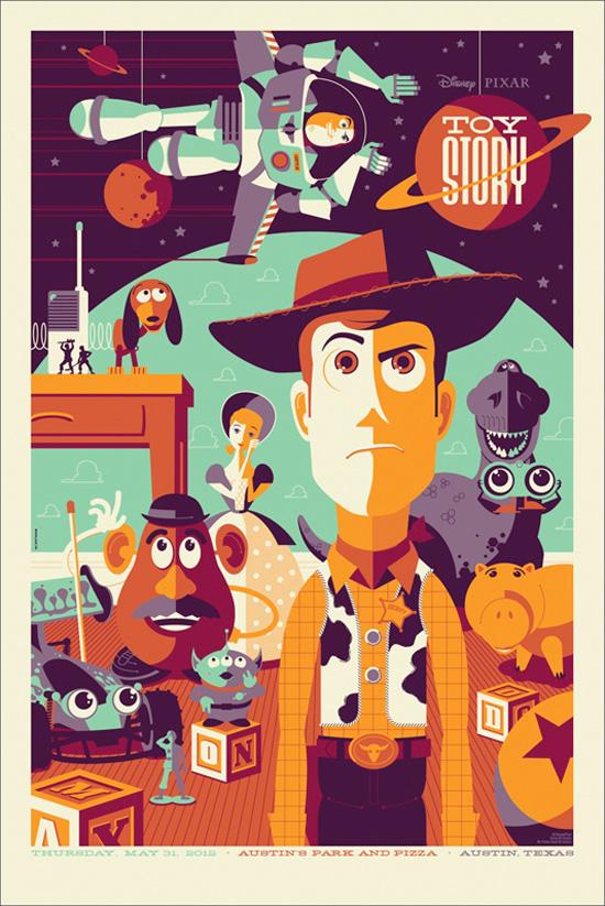 Toy Story - Mondo Poster