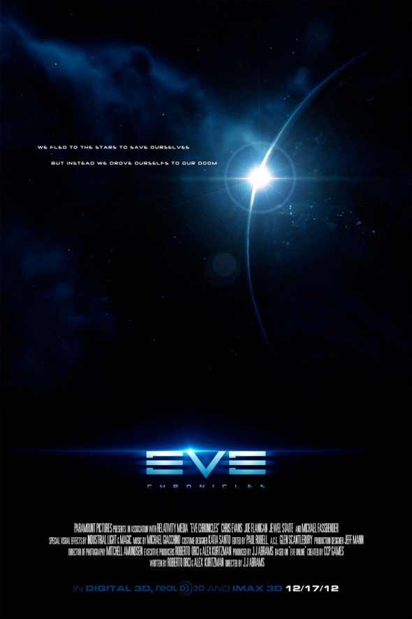 Video Game Movie Posters - Eve