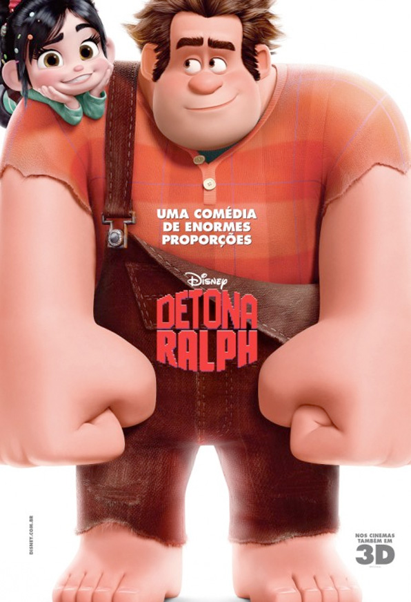 Wreck-It Ralph - International Poster 1