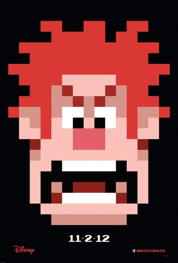 Wreck-It Ralph - Teaser Poster