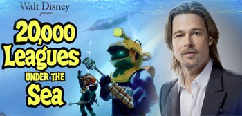20,000 Leagues Under the Sea / Brad Pitt