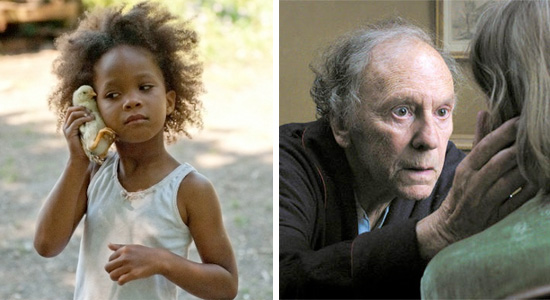Beasts of the Southern Wild and Amour