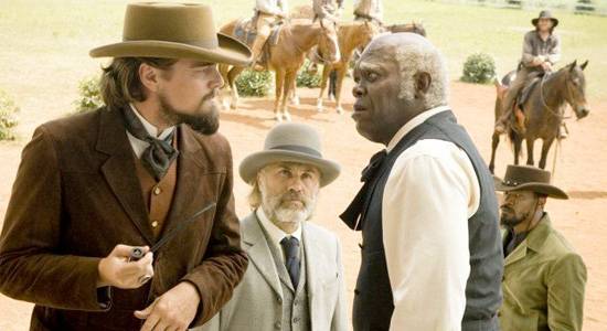 Leonardo DiCaprio and Samuel L. Jackson
