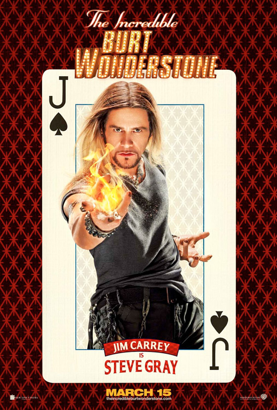 The Incredible Burt Wonderstone Poster - Jim Carrey