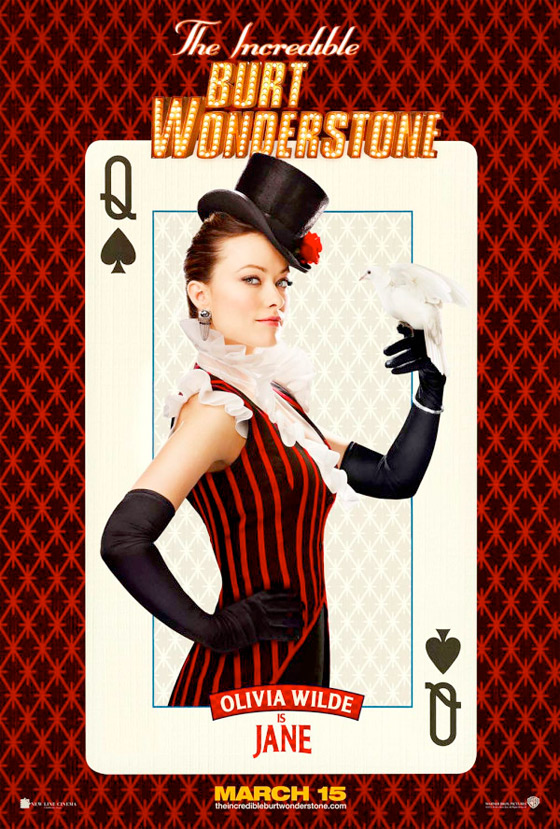The Incredible Burt Wonderstone Poster - Olivia Wilde