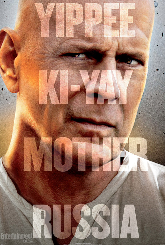 A Good Day to Die Hard Teaser Poster