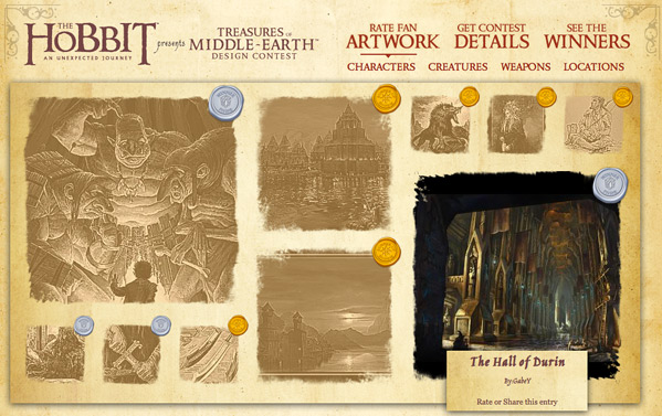 The Hobbit Design Contest Winners