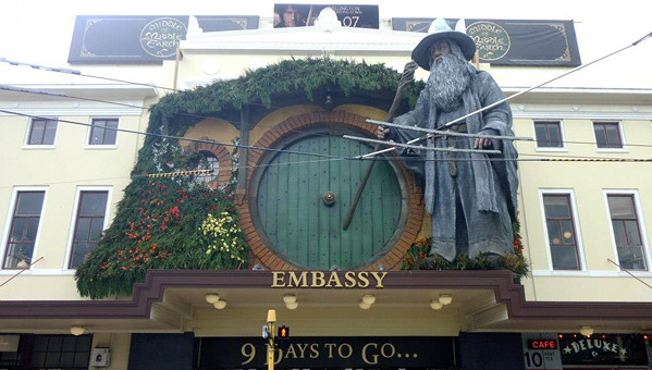 The Hobbit Embassy Theatre Gandalf Shire