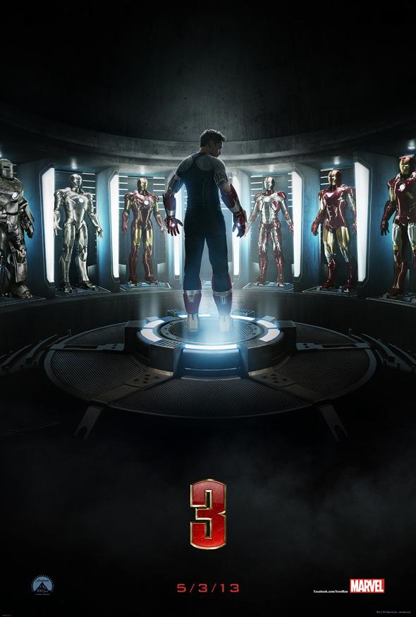 Iron Man 3 Teaser Poster