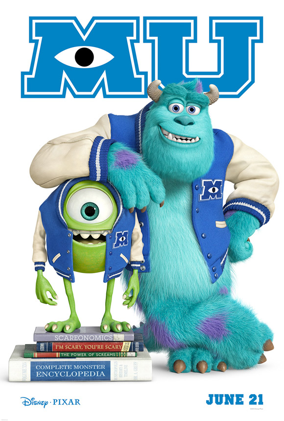 Monsters University Teaser Poster