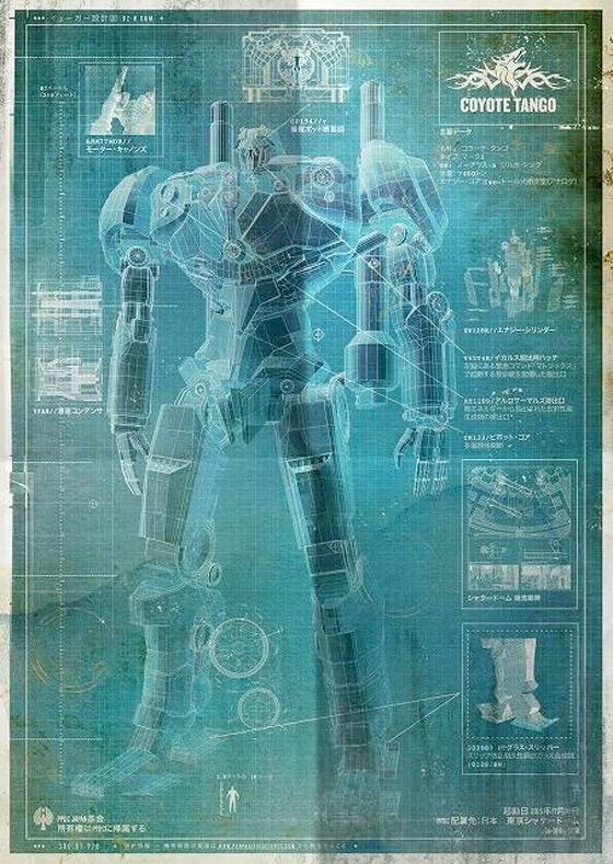 Pacific Rim Blueprint - Coyote Tango