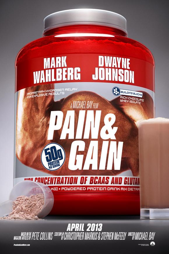 Michael Bay's Pain & Gain Teaser Poster