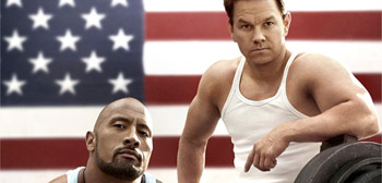 Johnson & Wahlberg in Bay's Pain & Gain