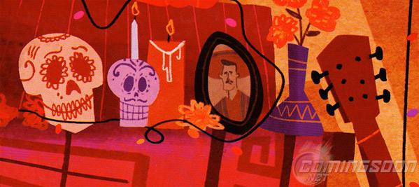 Pixar Concept Art - Dia de los Muertos