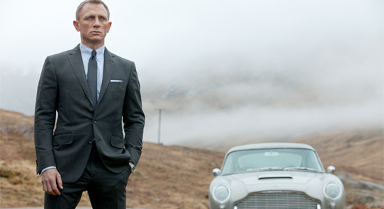 Skyfall - Daniel Craig as Bond