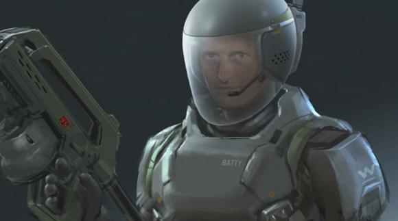 Weyland Military Guy