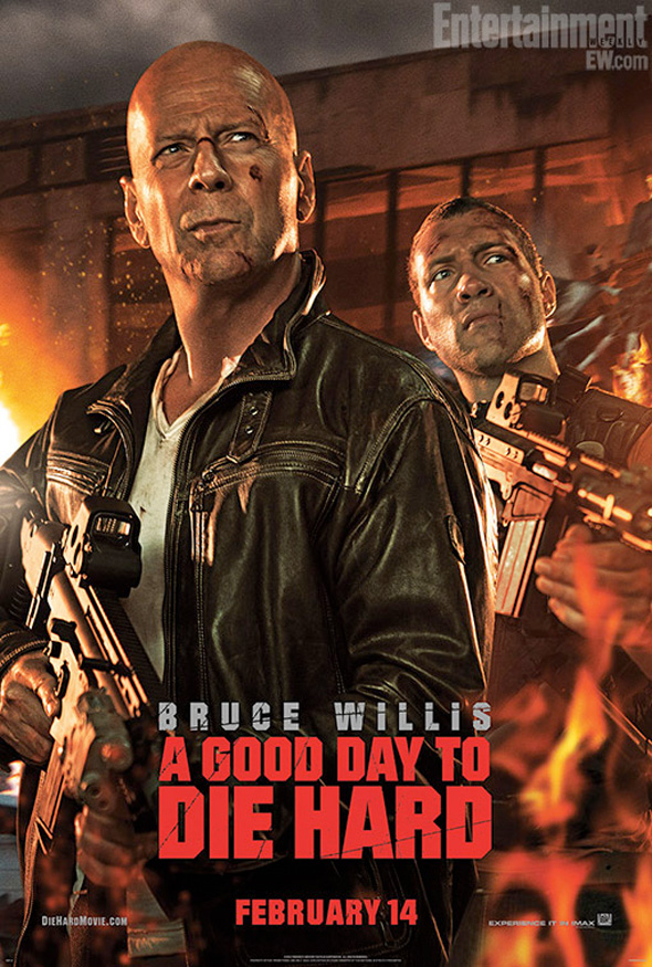 A Good Day to Die Hard - First Poster