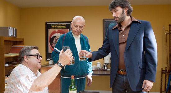 Argo - John Goodman, Alan Arkin and Ben Affleck