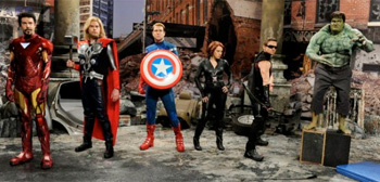 The Avengers on SNL