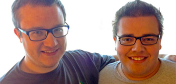 Alex Billington and Ethan Anderton