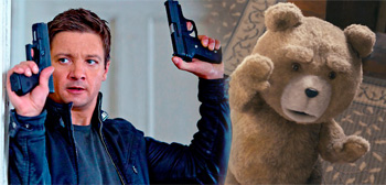 Bourne Legacy / Ted