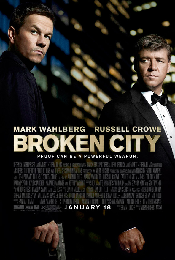 Broken City - Teaser Poster