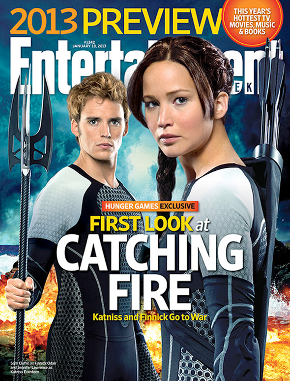 The Hunger Games: Catching Fire - EW Cover