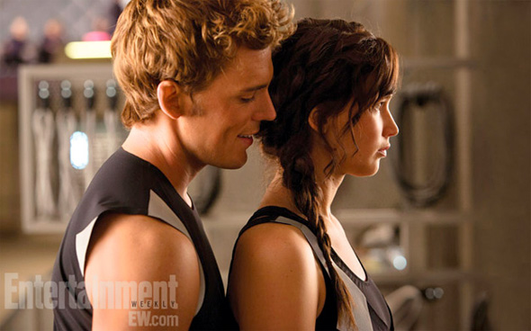 The Hunger Games: Catching Fire - Katniss and Finnick