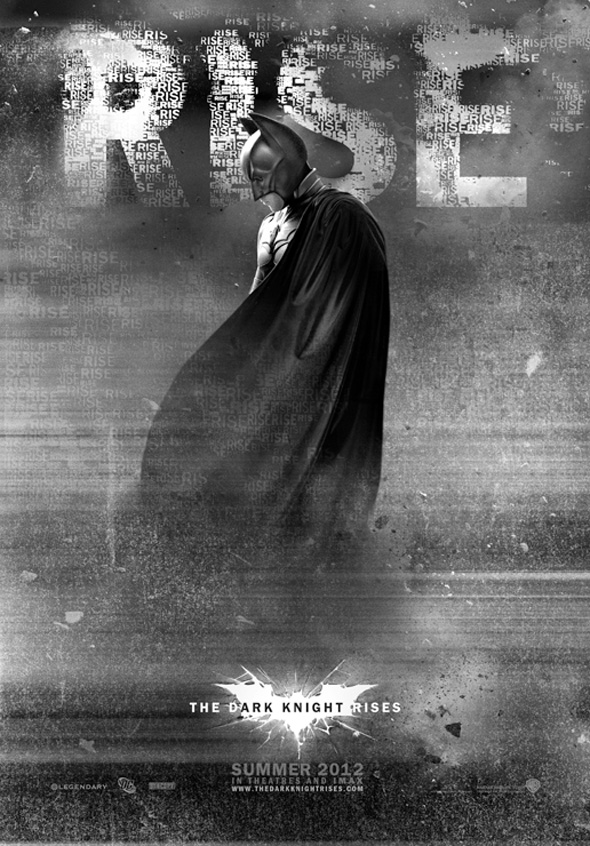 The Dark Knight Rises - Unused Poster 1