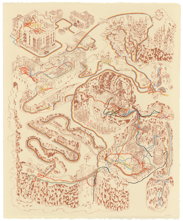 Andrew DeGraff Posters - Temple of Doom
