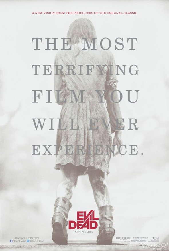 Evil Dead Remake - First Poster