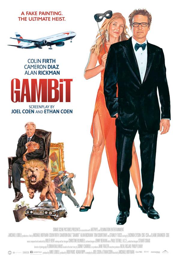 Gambit - Vintage Poster