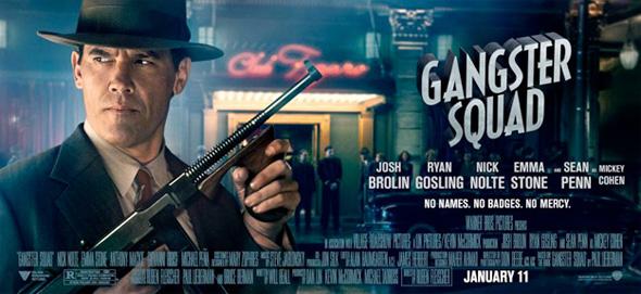 Gangster Squad - Josh Brolin Banner