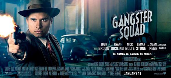 Gangster Squad - Michael Pena Banner