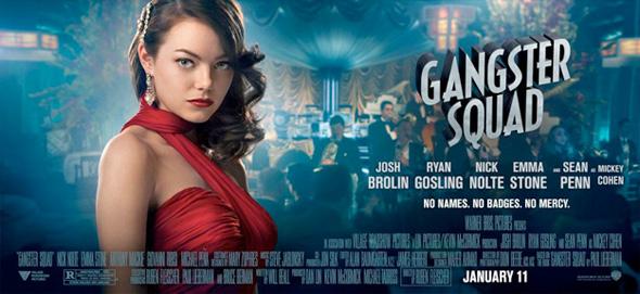 Gangster Squad - Emma Stone Banner