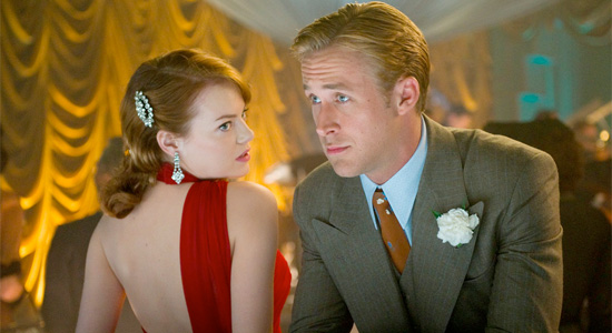 Gangster Squad - Emma Stone and Ryan Gosling